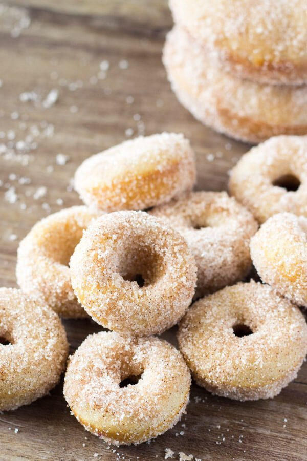 Cinnamon Sugar deliciousness!