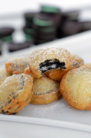 deep fried oreos